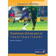 Ebook Enseñanzas tácticas para el 1-3-4-3, 1-4-4-2 y 1-4-2-3-1