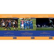 Pack de 3 tomos: Las áreas del entrenamiento